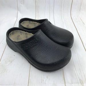 Birkenstock Black Clogs Size 38 USA 7
